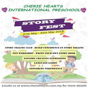 Cherie Hearts School Holiday Programme - Story Fest
