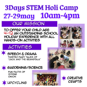 Kide Science 3 Days STEM Holiday Camp