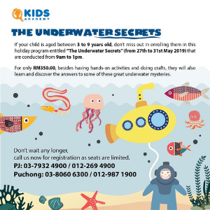 Kids Academy The Underwater Secrets