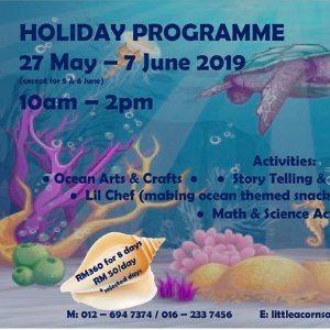 Discover The Ocean Holiday Programme - Little Acorns @ Play