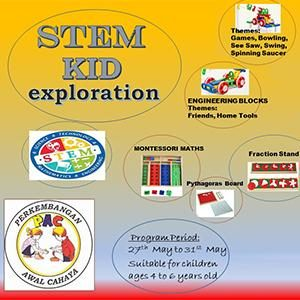 STEM KID Exploration @ Taska & Tadika PAC, Kota Kemuning