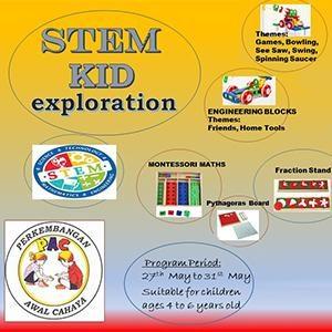 STEM KID Exploration @ Taska & Tadika PAC, Kota Kemuning
