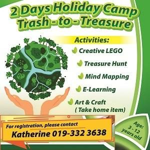 Junior Explorers One City Holiday Camp: Trash-to-Treasure