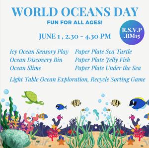 World Oceans Day @ Toddler TOWN International Preschool