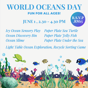 World Oceans Day @ Toddler TOWN International Preschool