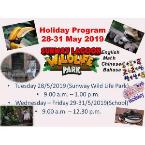Shining Glory Kindergarten - May Holiday Program