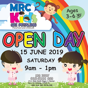 Open Day @ MRC Kids, Sri Petaling