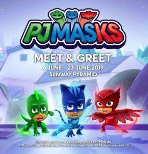 PJ Masks - Meet & Greet @ Sunway Pyramid