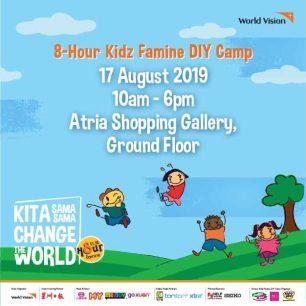 8-Hour Kidz Famine DIY Camp @ Atria Shopping Gallery