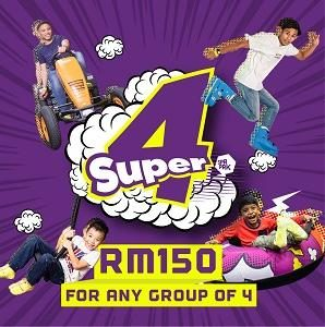 World Friendship Day - Super4 Offer @ SuperPark Malaysia