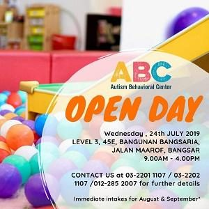 Open Day @ Autism Behavioral Center (ABC), Bangsar