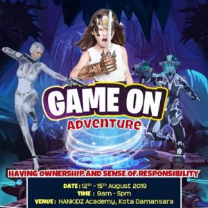 Holiday Workshop: Game On Adventure @ HANKidz Academy