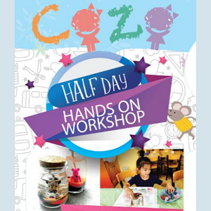 Tour Package: Half Day Hands-On Workshop by COZO Fun Learning Garden