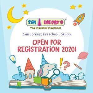 Open For Registration 2020 @ San Lorenzo Preschool Skudai, Johor