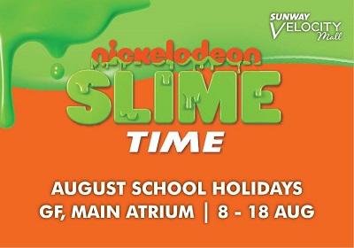 Sunway Velocity Nickelodeon Slime Time