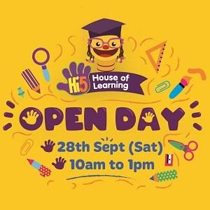 Open Day @ Hi-5 House of Learning, Damansara Heights
