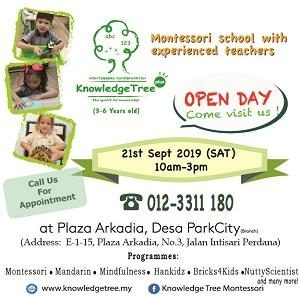 Knowledge Tree+ Open Day @ Plaza Arkadia Desa ParkCity