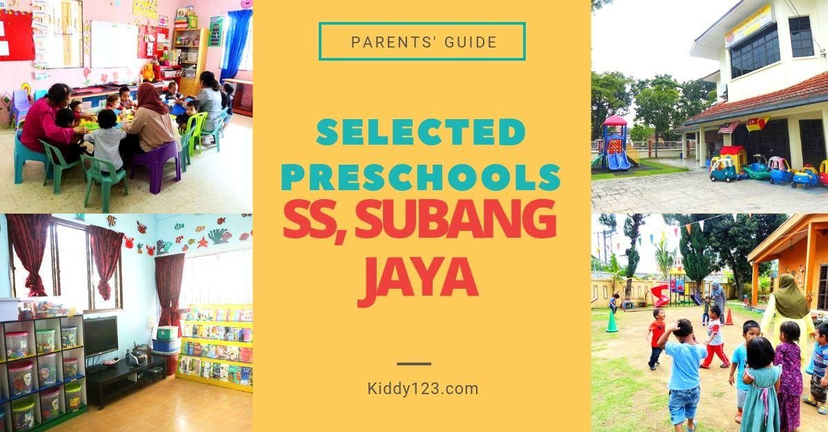 Selected Preschools in (SS) Subang Jaya
