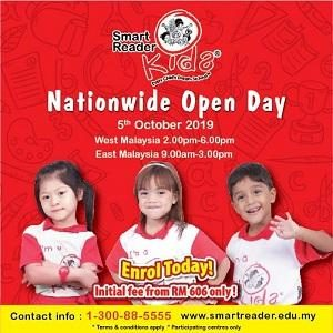 Nationwide Open Day @ Smart Reader Kids