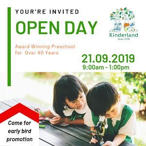 Open Day @ Kinderland Ipoh
