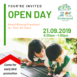 Open Day @ Kinderland Maisson Ara Damansara