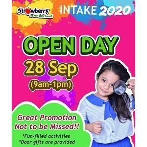 Open Day @ Strawberry Wonderland, Taman Prima Saujana