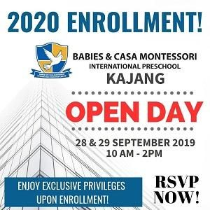 OPEN DAY @ BABIES & CASA MONTESSORI INTERNATIONAL PRESCHOOL, KAJANG