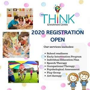 2020 Registration Open @Think Enrichment Centre, Plaza Arkadia Desa ParkCity