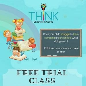 Free Trial Class @ Think Enrichment Centre, Plaza Arkadia Desa ParkCity