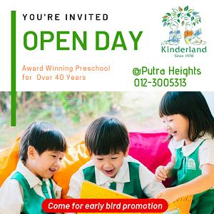 Open Day @ Kinderland Putra Heights