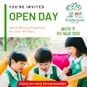 Open Day @ Kinderland USJ