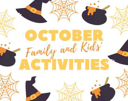 Unbelievable Family and Kids' Activities in October 2019
