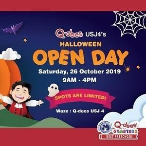 Q-dees USJ 4 Halloween Open Day