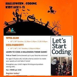 Halloween Coding @ CodeJuniors