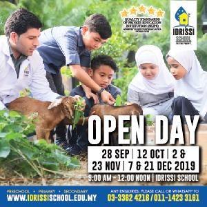 Open Day @ IDRISSI International School