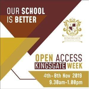 Open Access Kingsgate Week @ Kingsgate International School, Seri Kembangan