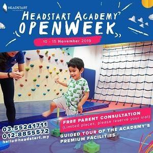Open Week @ Headstart Academy, Shah Alam