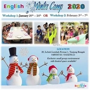 English Winter Camp @ Kidsville International Preschool, Tanjung Bungah