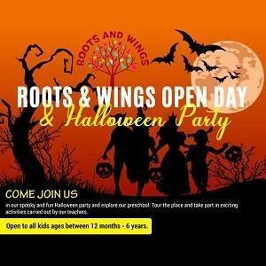 Open Day & Halloween Party @ Roots & Wings Montessori Preschool, Damansara Heights
