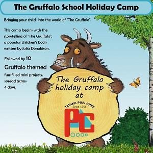 The Gruffalo School Holiday Camp @ Puei Chee Kindergarten, Petaling Jaya