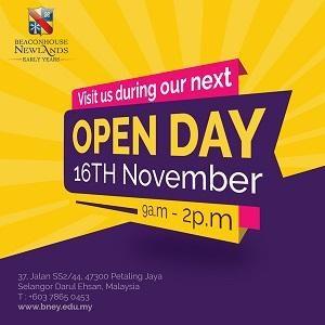Open Day @ Beaconhouse Newlands Early Years, SS2, Petaling Jaya