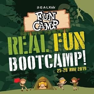 REAL Fun Bootcamp! @ R.E.A.L Kids