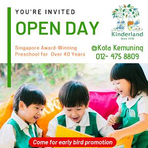 Open Day @ Kinderland Kota Kemuning