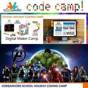 School Holiday Coding Camp @ CodeJuniors