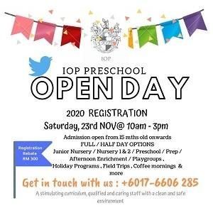 Open Day @ IOP Preschool, Ara Damansara