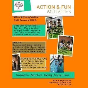 Holiday Program @ Roots & Wings Montessori Preschool, Damansara Heights