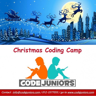 Christmas Coding Camp @ CodeJuniors