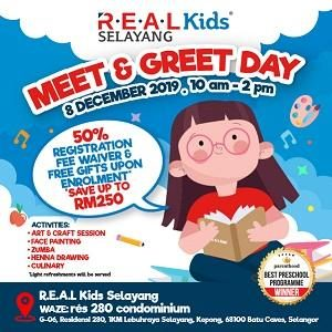 Meet & Greet Day @ R.E.A.L Kids Selayang