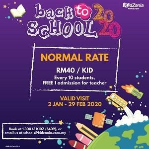 Back to School 2020 @ KidZania Kuala Lumpur