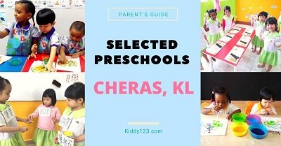 Selected Preschools in Cheras, KL
